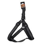 REFLECTIVE HARNESS (BLACK) (EXTRA LARGE) (25mm x 70-90cm) BWNDH0225BKXL