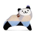 KNITTED COLORFUL CAT SERIES (GREY) (16x16x4cm) BWAT2835