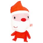 SUEDE CARTOON - CHRISTMAS SANTA (21x 10x 3cm) BWAT2816