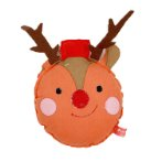 CHRISTMAS TOY - ELK (ORANGE) (16x12x4cm) BWAT2812
