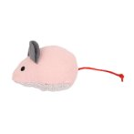 CAT TOY WITH CATNIP - MOUSE (PINK) (14.5x4cm) YT104717