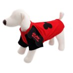 T-SHIRT - DOG BONE (RED) (MEDIUM) (30cm) SS0TK054RDM