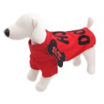 T-SHIRT - HOT DOGS (RED) (MEDIUM) (30cm) SS0TK058RDM