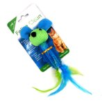 TPR TEETHER MOUSE WITH FEATHER IDS0WB23544