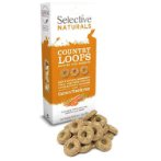 SUPREME COUNTRY LOOPS WITH CARROT & TIMOTHY HAY 80g SU8249
