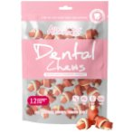DENTAL CHEW - CRANBERRY KNOTTED BONE 150g (12pcs) ALT-4204