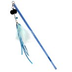 RETRACTABLE STICK TEASER - GOLDEN FISH (BLUE) (67cm) BWAT3762