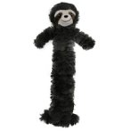 PLUSH SLOTH WITH TUBULAR SQUEAKERS (GREY) (SMALL) (30cm) IDS0WB24160