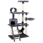 4 TIERS WITH LADDER,TUNNEL & CRADLE (GREY) (73x49x155cm) YS93196