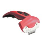 ONE DESHEDDING TOOL (DOG & CAT-10kg) (RED) (SMALL) EDGE 4.5cm NID00094