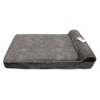 MEMORY FOAM LOUNGE BED (GREY) (MEDIUM) (122x76x23cm) SMF0HM02M60GYM