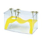 TRANSPARENT TURTLE AQUARIUM NAXOS (32x18x18cm) MPS055530070