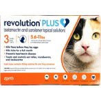 PLUS (M) ORANGE TUBES FOR CATS 5.6-11lbs RVPO607C