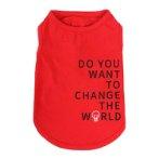 SWEAT SHIRT - CHANGE THE WORLD (RED) (LARGE) (35cm) SS0TK082RDL