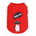 SWEAT SHIRT - PIRATE PENGUIN (RED) (SMALL) (25cm) SS0TK085RDS