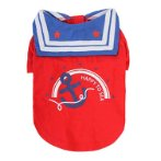 T-SHIRT SAILOR - HAPPY TO SEA (RED) (SMALL) (25cm) SS0TK099RDS