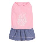 DRESS - ITS ONLY MAKE BELIEVE (PINK / BLUE) (SMALL) (25cm) SS0DR104PKS