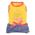 DRESS - VIP (YELLOW / BLUE) (SMALL) (25cm) SS0DR105YLS