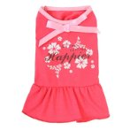 DRESS - WE ARE GETTING HAPPIER (FUCHSIA) (LARGE) (35cm) SS0DR106PKL