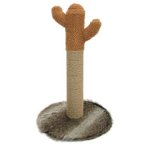 SISAL POLE - CACTUS (BROWN / GREY) (40x40x65.5cm) YS103508B