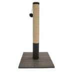 SISAL POLE WITH TOY(BEIGE / GREY)(39x39x72.5cm) YS107516