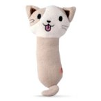 PILLOW CAT CATNIP TOY (BROWN) (25x9x4cm) BWAT2894