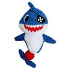 AHOY SHARK PIRATE WITH TPR BALL (33x20x8cm) IDS0WB248291