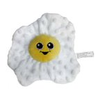 PLUSH FRIED EGG WITH SQUEAKER & CRINKLE (18cm) IDS0WB21450