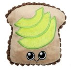 AVOCADO TOAST WITH SQUEAKER & CRINKLE (13cm) IDS0WB21452