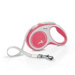 RETRACTABLE LEASH - NEW COMFORT 5M TAPE SMALL (15kg) (RED / WHITE) FBI0CF10T5251R20