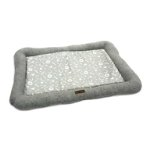 COOLING FABRIC PET MAT - SYMBOLS (GREY) (LARGE) (86x57x7cm) DF19627GYL
