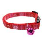 CAT COLLAR - FLOWER (RED) (EXTRA SMALL) (10mmx21-35cm) BWBR18009RECCRDXS