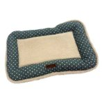 PET MAT-POLKA DOT(GREEN) (SMALL) (55x36x5cm) DF16386GNS