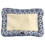 PET MAT - ETHNIC STYLE (BLUE / WHITE) (MEDIUM) (70x47x6cm) YF109094BUM