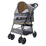 CLOUD 9 PET STROLLER MUSTARD YELLOW (85X51X98cm) BWIBIFS2010Y