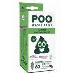 POO DOG WASTE BAGS (60 BAGS)-LAVENDER SCENTED 10115508
