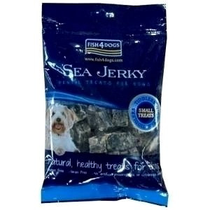 Fish 4 Dogs Sea Jerky Squares 100 g Pack of 3